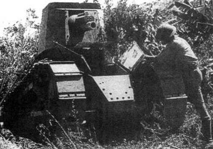 легкий танк Renault BS