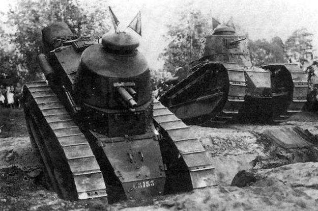 Легкий танк Renault FT-17