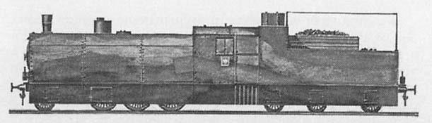 Стандартный бронепаровоз Ti-3