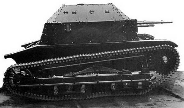 танкетка ТК-3