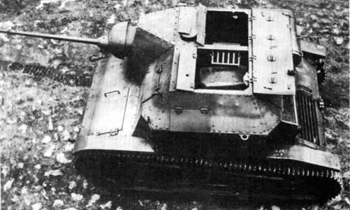 Танкетка TKS с 20-мм пушкой