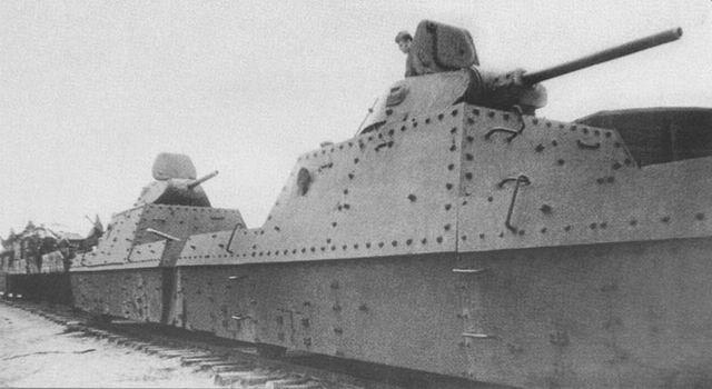Бронепоезд типа БП-43 «Уфа».