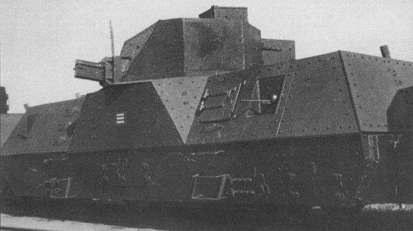 Бронепоезд типа ОБ-3. «Лунинец» №704