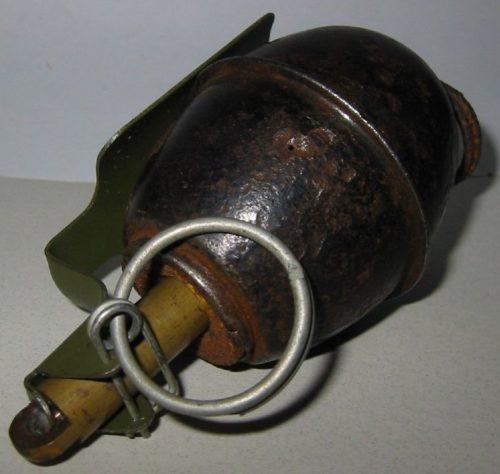 Ручная граната w-Tennmek fuze