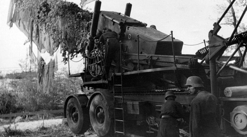 Тяжелая гаубица 24-cm Kanone-3