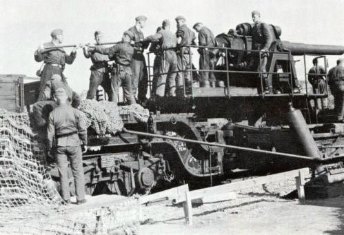 Железнодорожное орудие 17-cm К (Е)