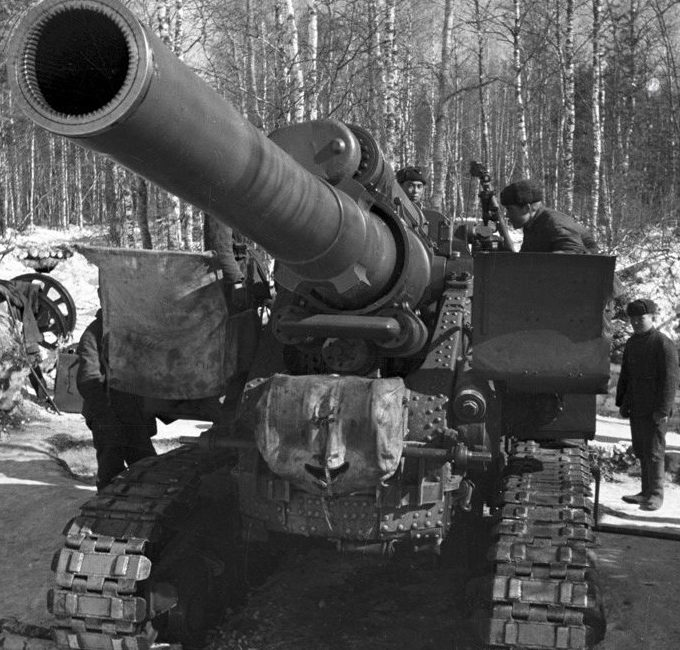 Гаубица-пушка Б-4