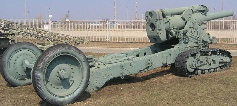 203-мм гаубица-пушка Б-4 обр. 1931 г.