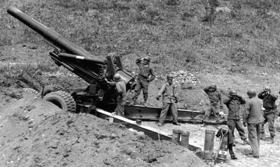 Гаубица 203-mm Howitzer M-115