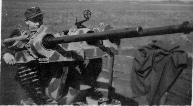 Зенитная установка 20-mm MG-151/20 Drilling