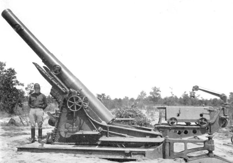 Гаубица 240-mm Howitzer М-1918