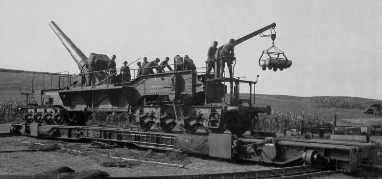 Железнодорожное орудие 24-cm Theodor К (Е).