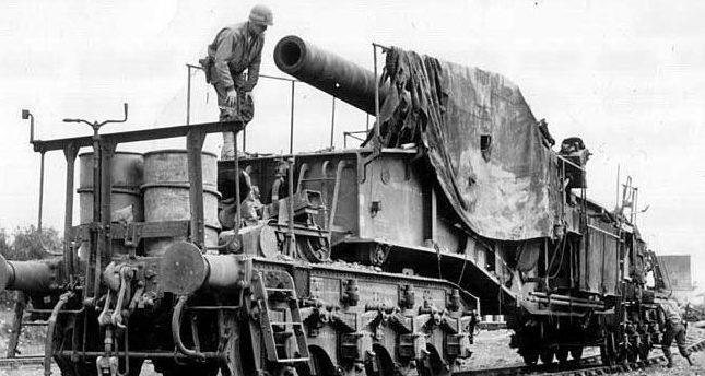 Железнодорожное орудие 24-cm «Theodor Вгипо» К(Е)