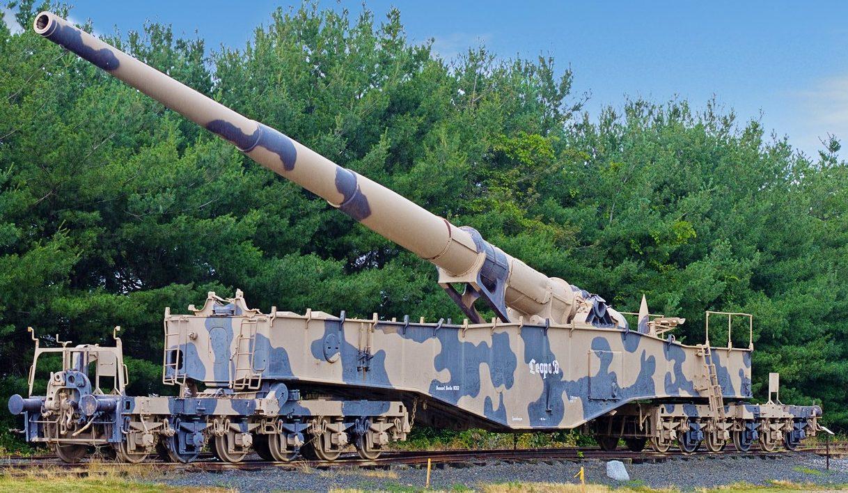 Железнодорожное орудие 28-cm К-5 (Е).