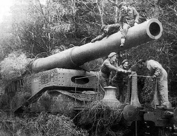 381-мм железнодорожное орудие