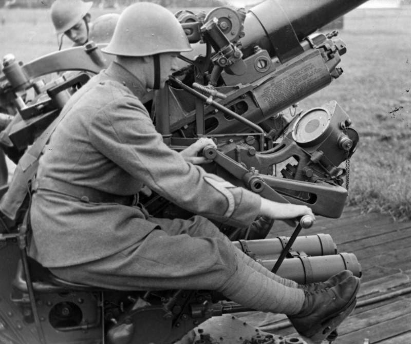 75-мм зенитная пушка Vickers model 1936/39