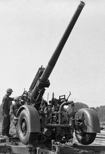 94-мм зенитная пушка Q.F- 3,7-inch