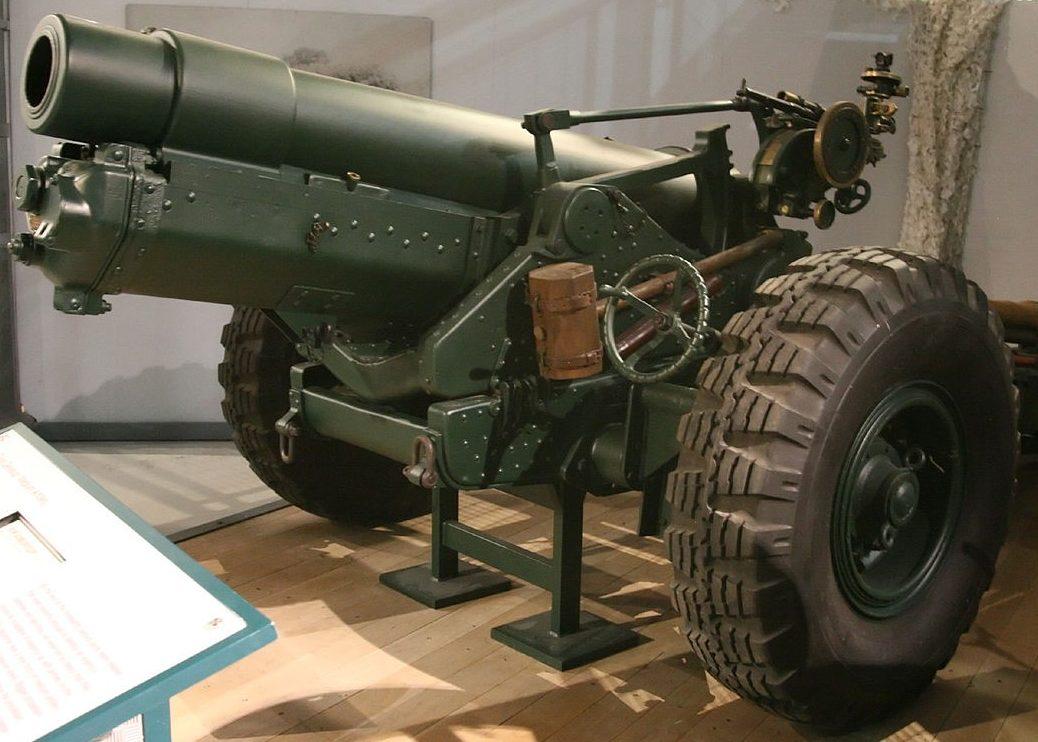 152-мм гаубица «BL-6 inch 26 cwt Howitzer»