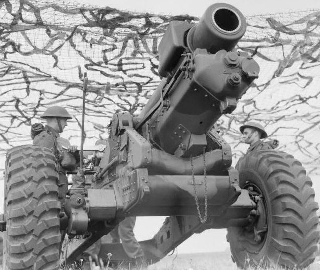 152-мм гаубица «BL-6 inch 26 cwt Howitzer»