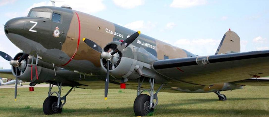 Транспортный самолет Douglas C-47 Skytrain (R-4D-1)
