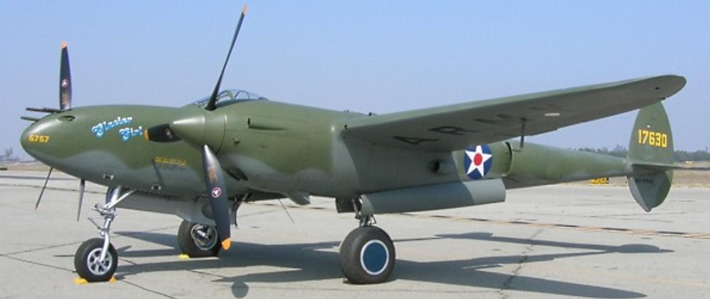 Истребитель Lockheed P-38F
