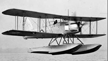 Гидросамолет  Fairey Seafox