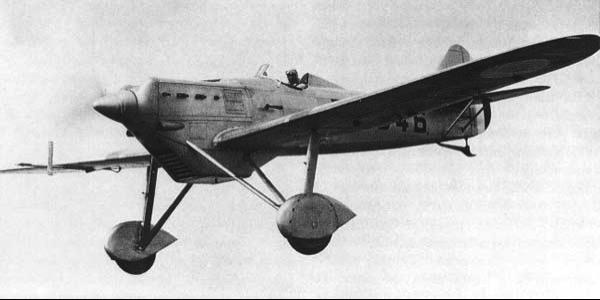 Истребитель Dewoitine D.500