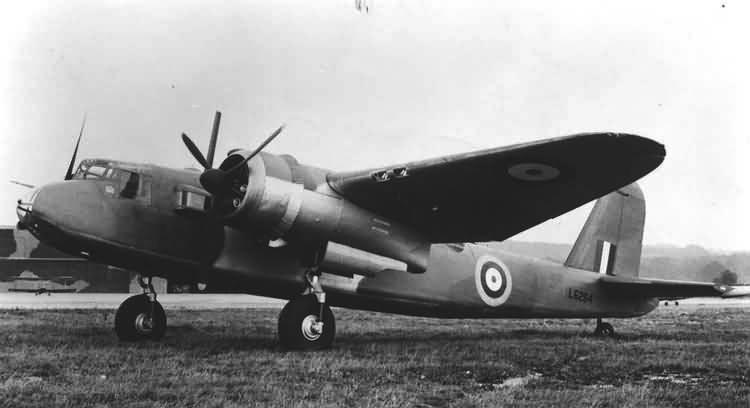Бомбардировщик B-26 Botha