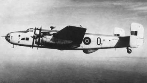 Противолодочный самолет Halifax GR
