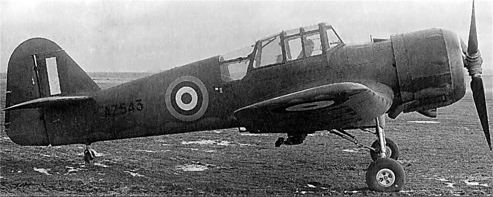 Учебно-тренировочный самолет Miles Master - М.19 Mk-II
