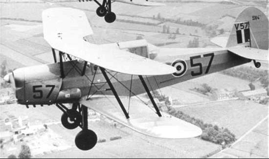 Многоцелевой самолет Stampe et Vertongen SV-4А