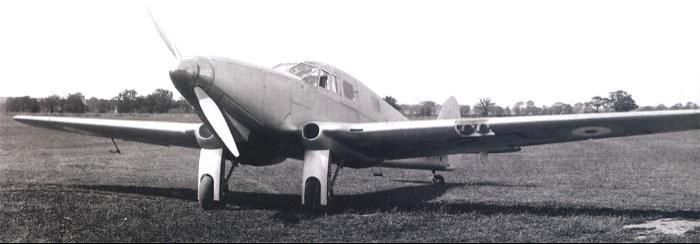 Вспомогательный самолет de Havviland DH-93 DON