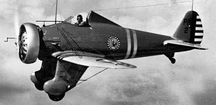 Истребитель Boeing P-26 Peashooter