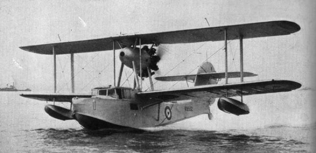 Летающая лодка-амфибия Supermarine Walrus