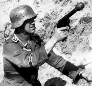 Kampfpistole с гранатой без плечевого упора