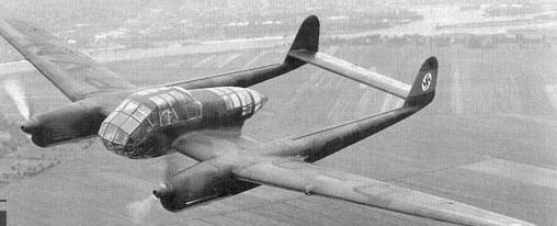Ближний разведчик-корректировщик Focke-Wulf Fw-189А