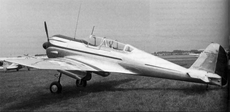 Разведчик-бомбардировщик Curtiss-Wright CW-22N (SNC-1 Falcon)