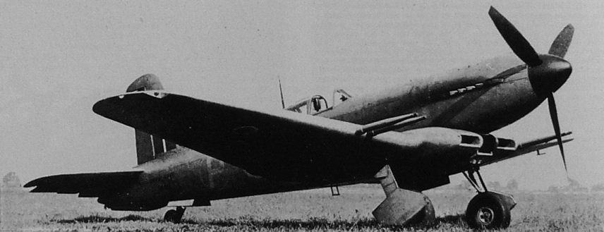 Палубный истребитель Blackburn Firebran ТF-I