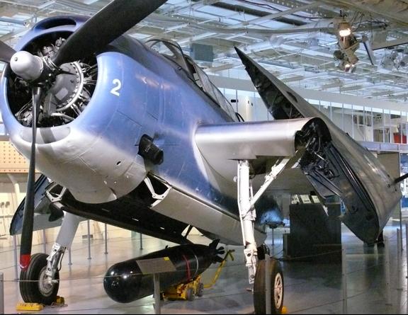 Палубный торпедоносец Grumman Avenger TBM-3E