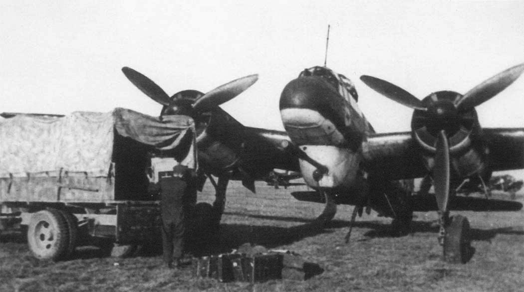 Бомбардировщик Junkers – Ju 88-Р-1 c пушкой PaK-40