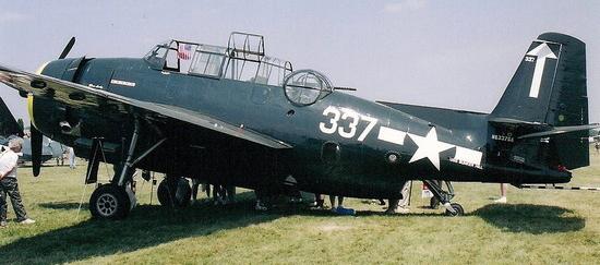 Палубный торпедоносец Grumman Avenger - TBM-3S