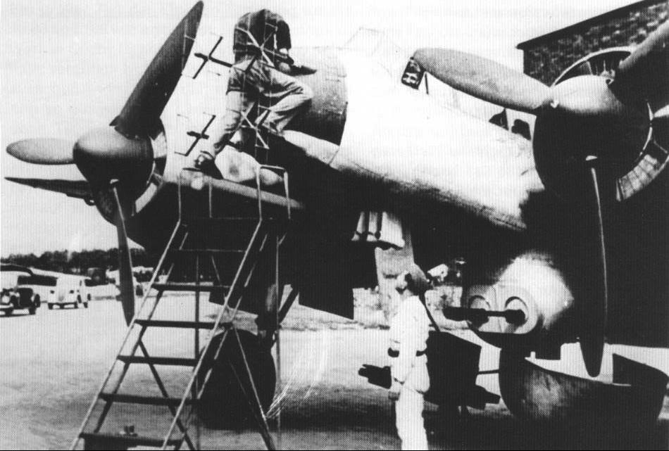 Бомбардировщик Junkers – Ju 88-Р-3 с двумя пушками ВК 3,7