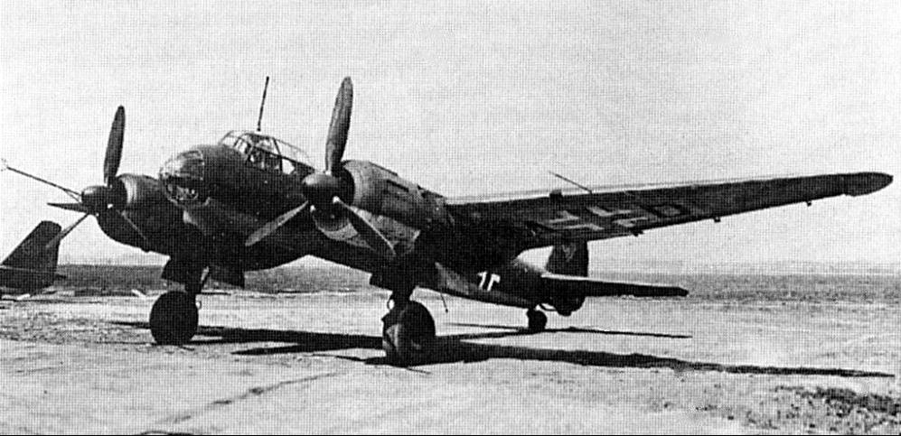 Бомбардировщик Ju 88-S