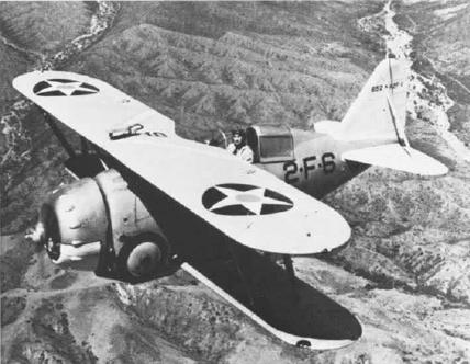 Истребитель Grumman F-2F-1
