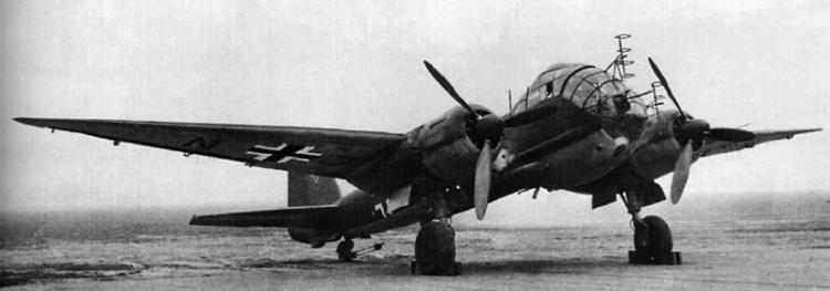 Бомбардировщик Junkers - Ju 188-Е