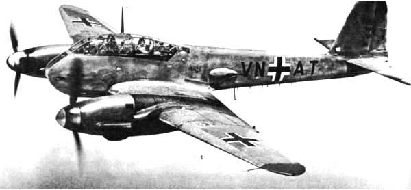 Бомбардировщик Messerschmitt 210А