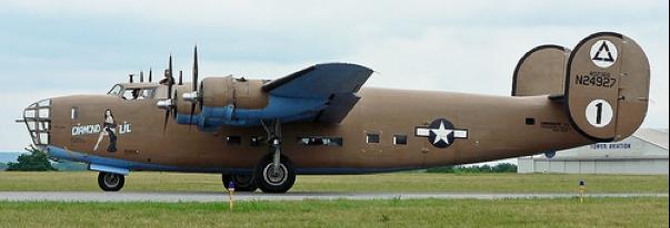 Транспортный самолет Consolidated С-87 Liberator Express