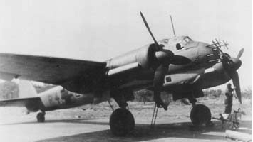 Истребитель Ju-88C