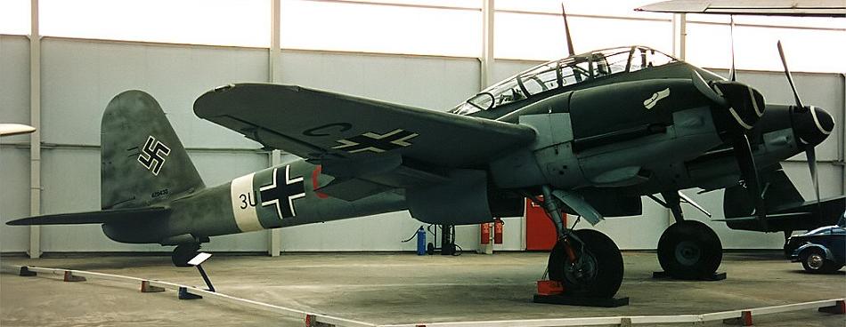 Бомбардировщик Messerschmitt - 410А
