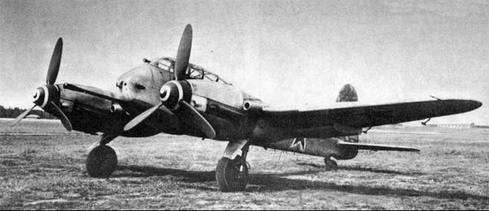 Бомбардировщик Messerschmitt - 410В
